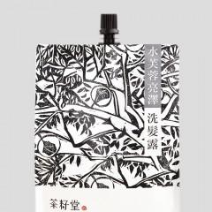 [綠工坊] 水芙蓉亮澤洗髮露【毛躁及一般髮質適用】 補充包 茶籽堂