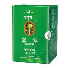 [綠工坊] 百信度 藍藻 螺旋藻 錠 明日葉+螺旋藻 綠源寶
