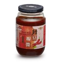 [綠工坊] 全素 辣豆瓣醬 風味手釀 非基因改造黃豆原料 無防腐劑 明德