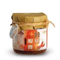 [綠工坊] 全素 辣豆瓣醬 165g 風味手釀 非基因改造黃豆原料 無防腐劑 明德