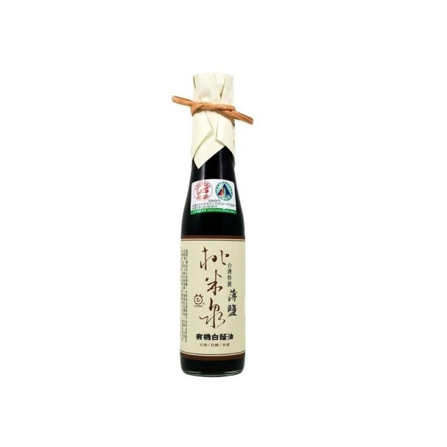 [綠工坊] 全素 桃米泉 有機白蔭油 薄鹽白蔭油 無防腐劑 甘寶