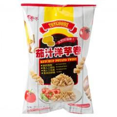 [綠工坊] 奶素 茄汁洋芋卷 無防腐劑 非基改原料製成 豆之家 年貨 里仁